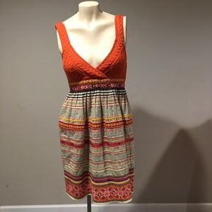 Free People Wool and Embroidered A-Line Dress 4